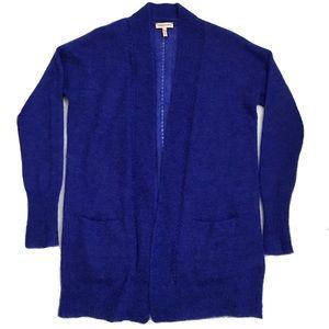 Rebecca Taylor Blue Cardigan Sweater Alpaca